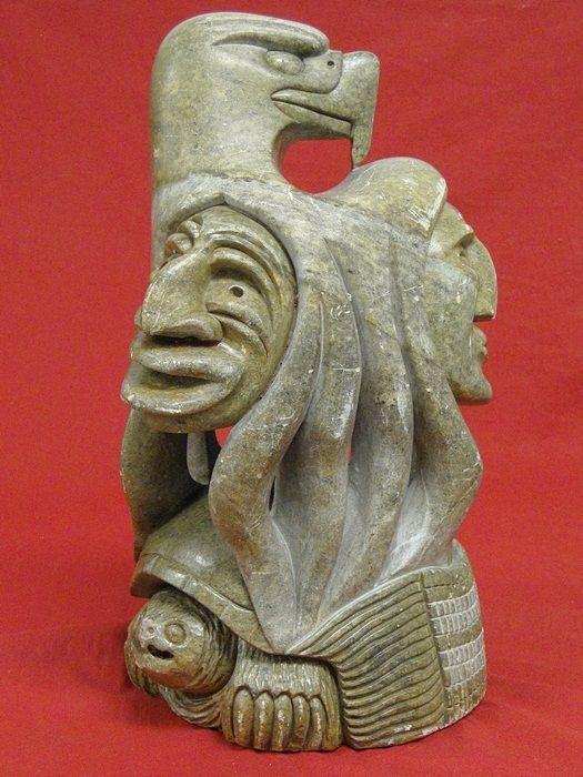 Gene thomas onondaga iroquois canadian indian soap stone