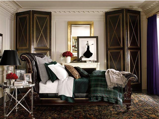 RALPH LAUREN Inspiration Board Bedroom Pinterest