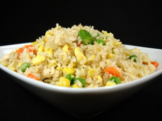Garlic Chicken Fried Rice | Food Glorious Food | Pinterest