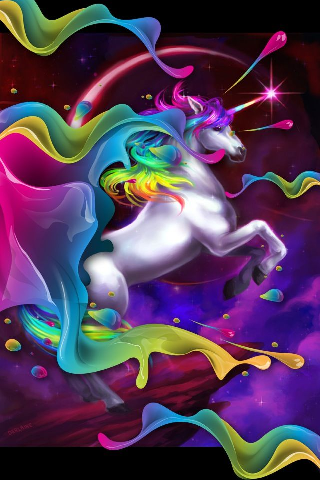 It is a photo of Massif Colorful Unicorn Pictures