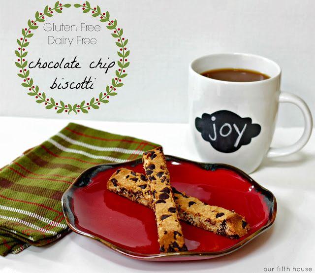 gluten free chocolate chip biscotti | Gluten free goodies | Pinterest