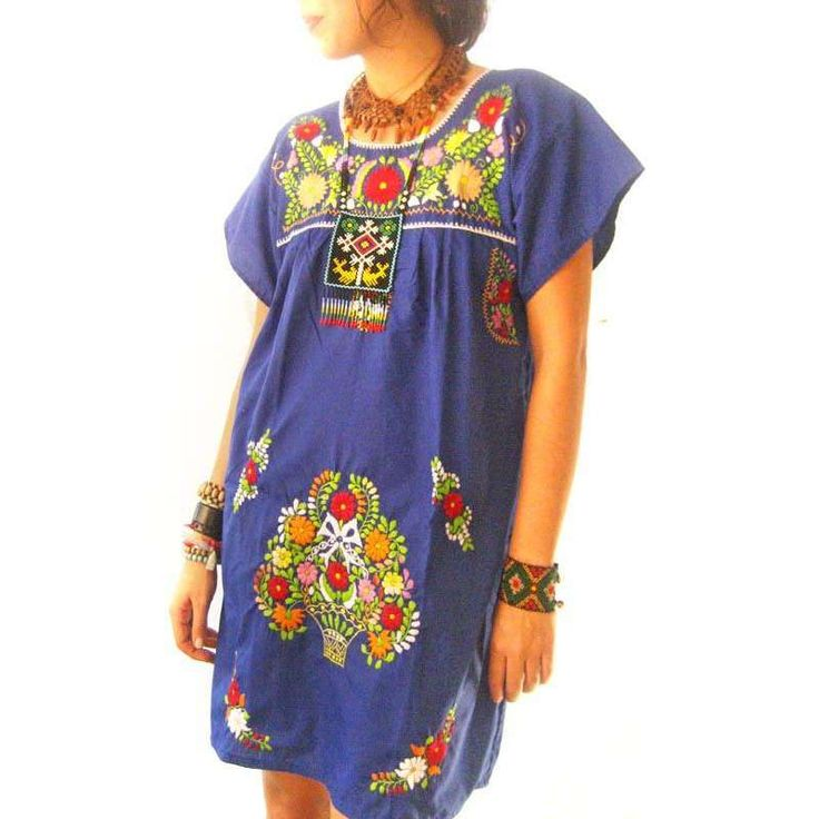 Amazing Indays, I Hope You Are Game To Wear That Bunny Outfit! Womens Embroidered Mexican Peasant Dress Long Maxi Tent Yellow Pink Blue Floral Ethnic Hippie Folk Bohochic Vintage 70s Vintage Hippie Denim Floral Embroidered Tent