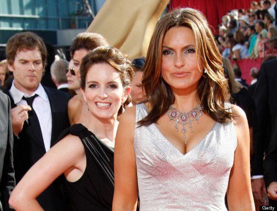 Tina Fey and Mariska Hartigay