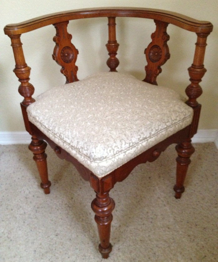 antique corner chair antiques and collectibles pinterest