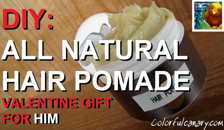 ... DIY All Natural #Hair Styling #Pomade (Valentines Gift for Him