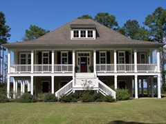 14a4204c0cd41f2e Front Elevation Single Story House Single Floor House Elevation likewise Small House Warburg Bioi in addition 2 Bedroom House Plans Dog Trot together with Plantation Cottage Basement 2922 Sf also Hawaiian Plantation Style House Plans. on southern cottage house plans