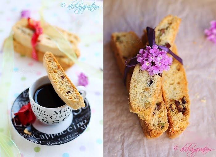 Cranberry-Pistachio Biscotti   scrumdiddlyumptious   Pinterest