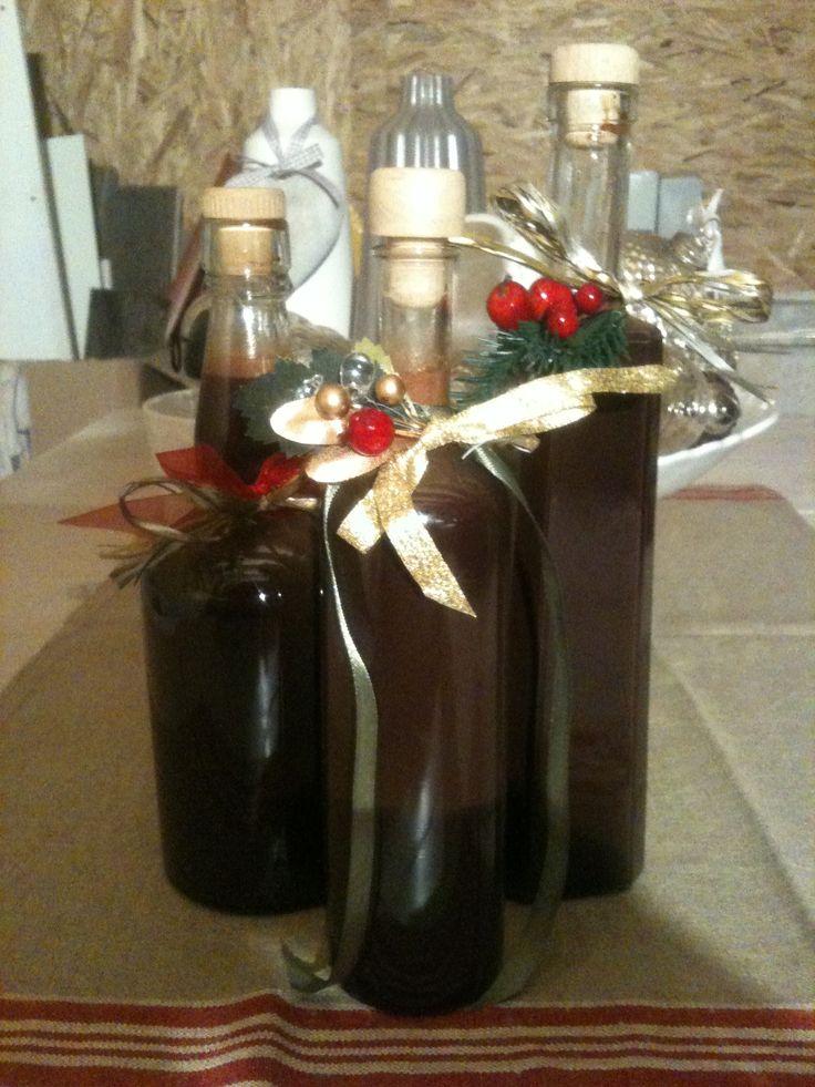 Homemade chocolate liqueur   Food   Pinterest