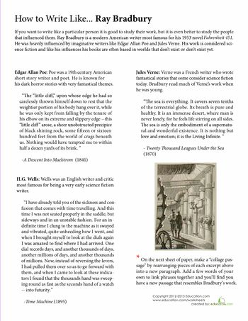 Ray bradbury essay