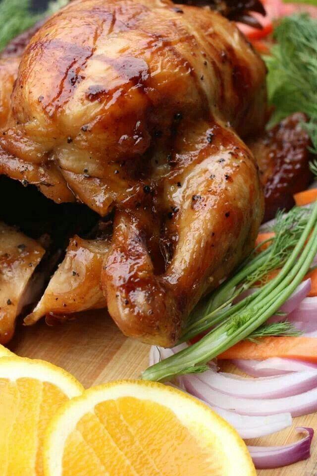 Sunday roasted chicken | Food Food Food.....!!! | Pinterest