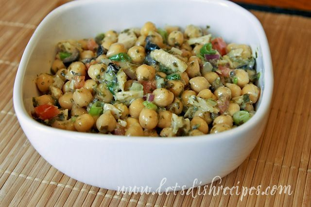 chickpea tuna salad. | healthy eating | Pinterest