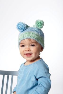 Bernat Baby Jacquards Knit Jester Hat