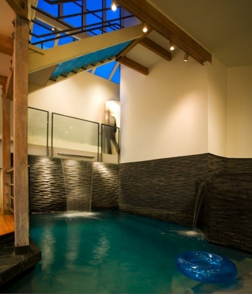 Small Indoor Pool Pools Hot Tubs Pinterest