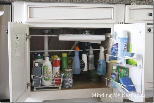 Under The Kitchen Sink Organizing Ideas Organization