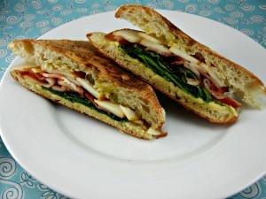 Bacon, Pear & Smoked Gouda Panini | #panini #sandwich #bacon - Guest ...