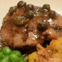 Chicken Breasts in Caper Cream Sauce Allrecipes.com photo by Lucky ...