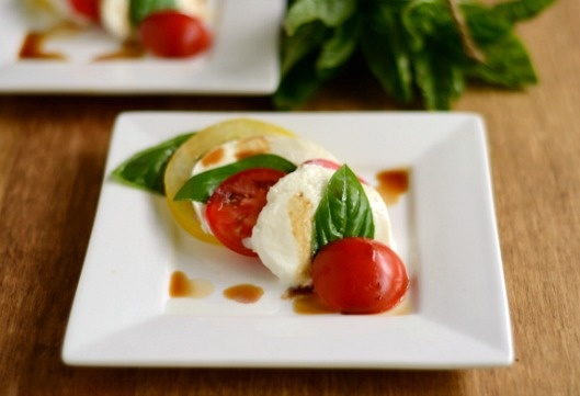 Caprese Salad with Heirloom Tomatoes | Crazy For Caprese | Pinterest