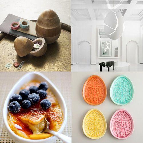 Egg inspired design | Fresh Modern Easter | Pinterest
