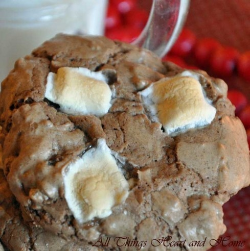 Mississippi Mud Cookies~Gluten Free Easily!