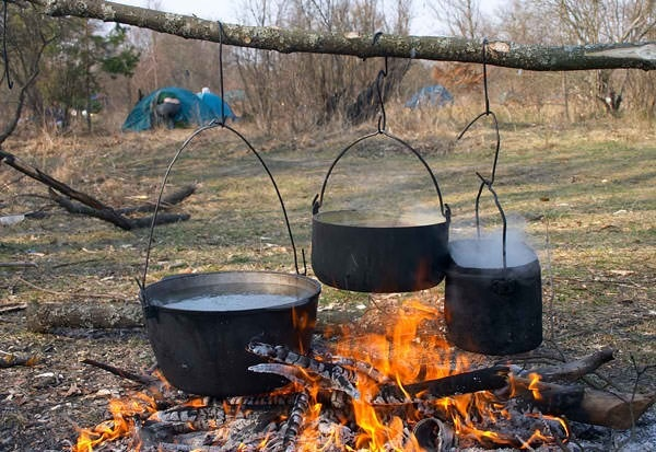 Campfire cooking campsite ideas pinterest for What to cook in a dutch oven camping