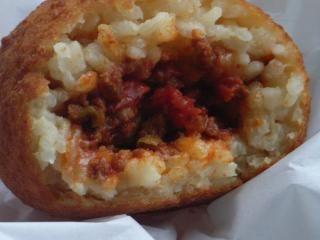 Arancini (Sicilian Stuffed Rice Balls) | Family Food Ideas | Pinterest