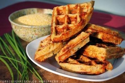 Cheddar Scallion Polenta Croquettes Recipes — Dishmaps