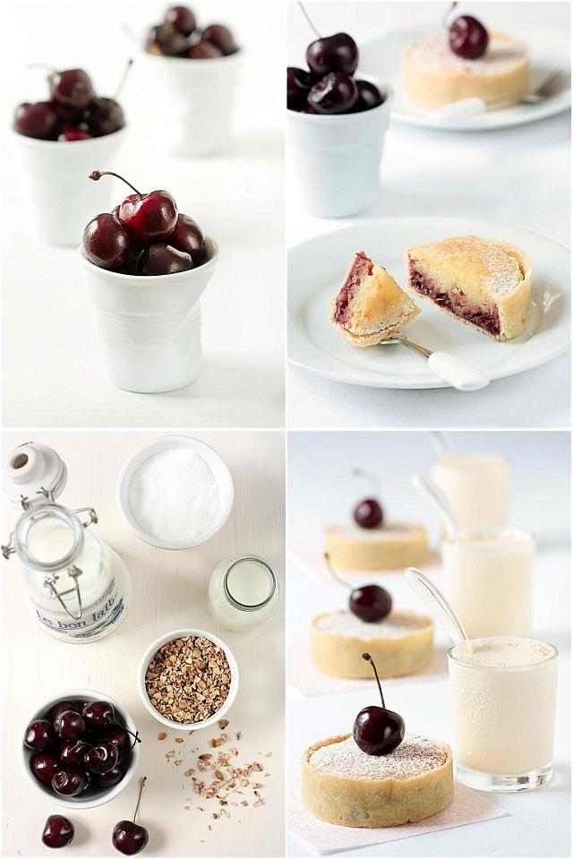 cherry almOnd frangipane tarts & cherry pit ice cream milkshakes