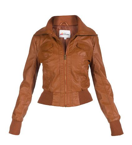 bomber jacket women brown Brown Leather Bomber Jackets For Women