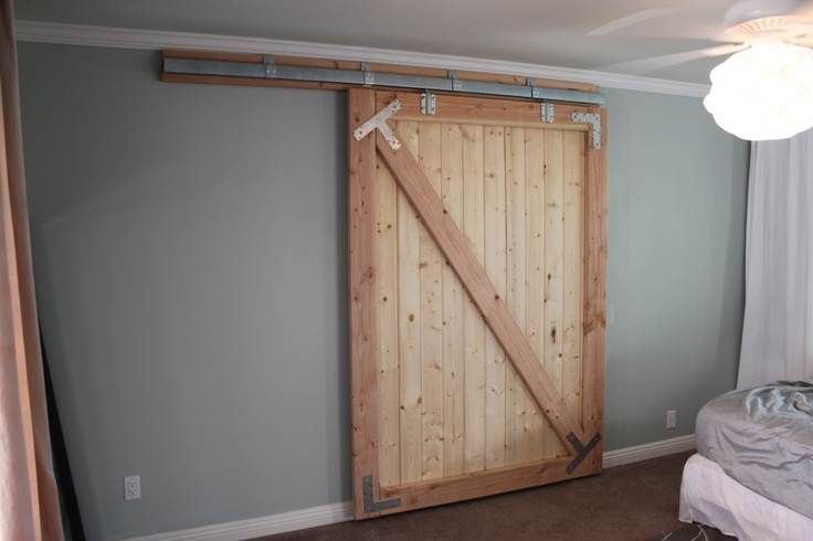 Diy Sliding Barn Door Kitchen Pinterest