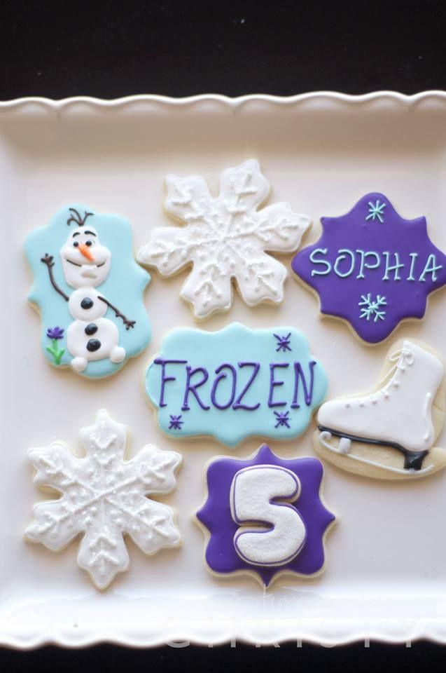 FROZEN!--cookies https://www.facebook.com/soonersugar