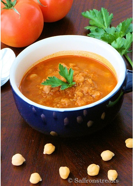 Moroccan spiced chickpea soup | Eat Your Soup | Pinterest