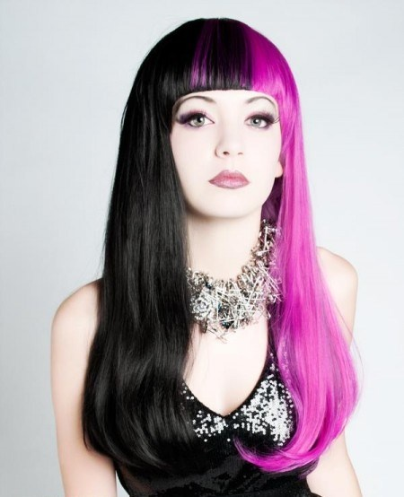 Pink Amp Black  Hair Everywhere  Pinterest