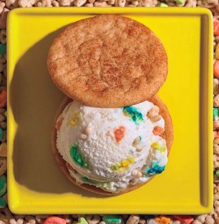 Whiskey Lucky Charms Ice Cream Sandwich | Taste Buds | Pinterest