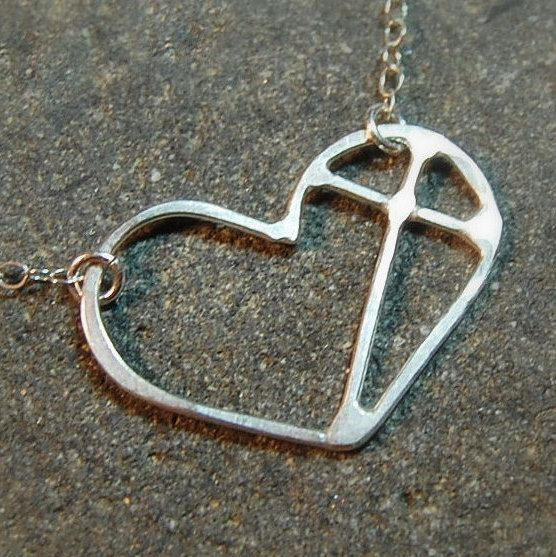 Small Cross Heart  Sterling Silver Individually by lavalleygirly, $28.00