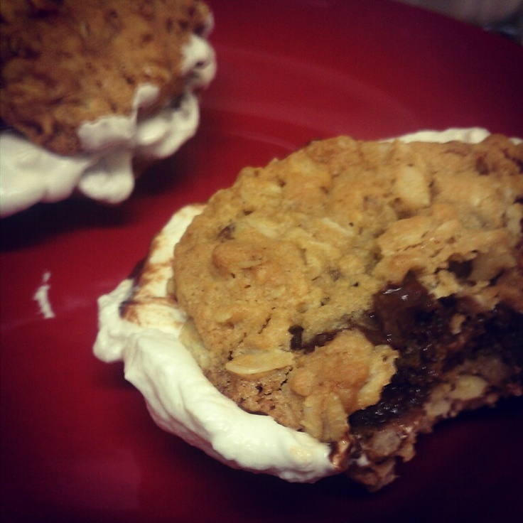 Chocolate-Oatmeal Moon Pies Recipes — Dishmaps
