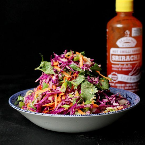 Crunchy, spicy, tangy, and light is how I would describe this Sriracha ...