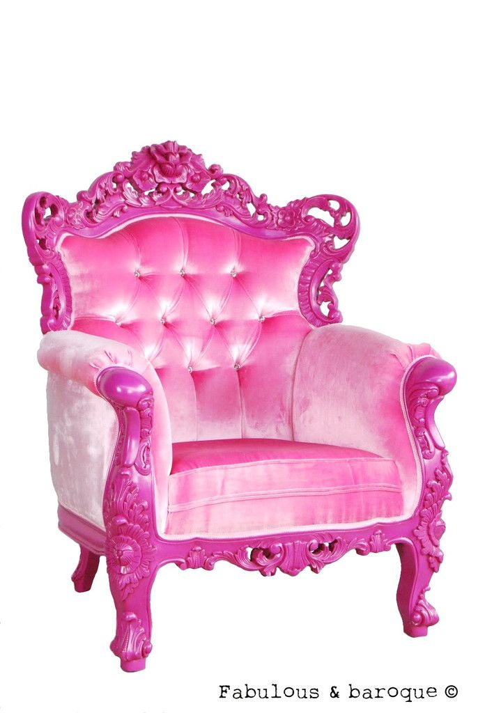 Great chair for a little girls room