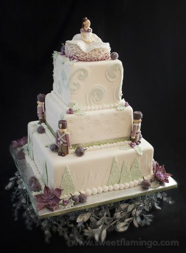 ... is a cake created to tell the story of the Sugar Plum Fairy of