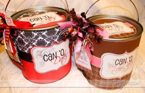 can o' dates, with free printables and ideas, great for married couples, bridal showers, wedding gifts.