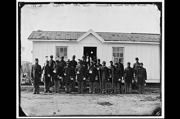 Black African American Civil War Soldiers