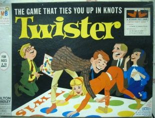 I can't imagine anyone playing Twister dressed in a sport coat and tie!