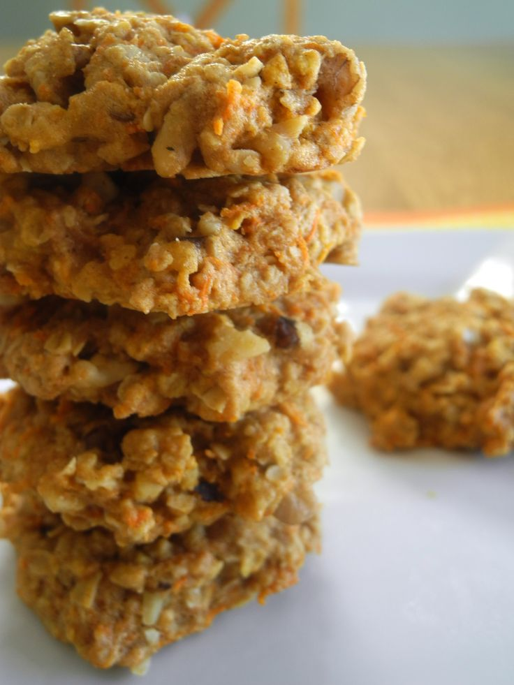 Carrot Oatmeal Cookies | Real Food | Pinterest