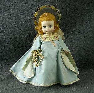 Vintage Madame Alexander Wendy Kins Guardian Angel Doll Harp Triple Part | eBay