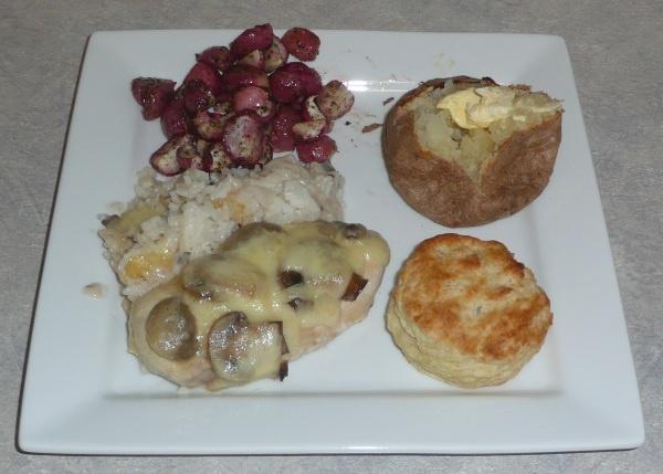 Swiss Mushroom Chicken | Food : Love at first bite | Pinterest