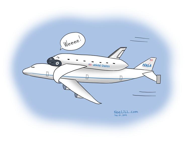space shuttle comic - photo #16