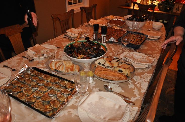 Christmas eve seven fish dinner christmas pinterest for 7 fishes christmas eve