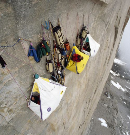 extreme tent camping