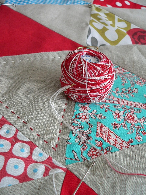 with variegated thread