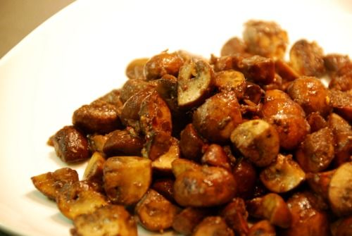 Spicy Sauteed Mushrooms With Anchovy | Favorite Recipes | Pinterest