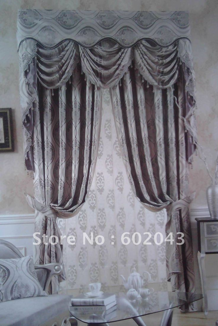 ... striped heavy curtain Velvet Blackout fabric Curtains-in Curtains